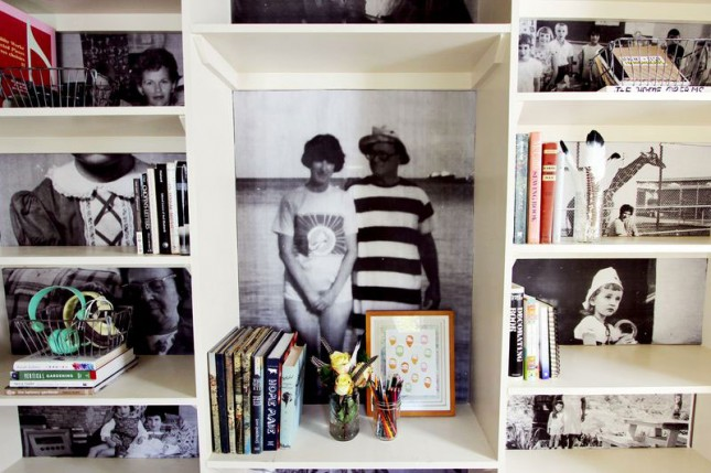 Decorate your bookshelves