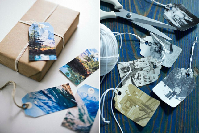 holiday cards or postcards from your photos