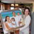 6 Unique Ways to Gift Your Hand-Painted Portrait On Christmas Day