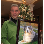 photo to portrait to Memorialize a Beloved Pet
